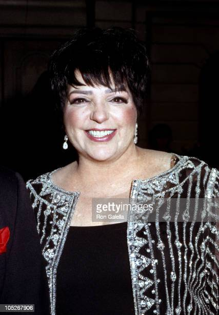 Liza Minnelli during The Drama League Salutes Liza Minnelli at The Pierre Hotel in New York City, New York, United States.