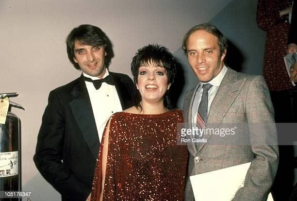 Liza Minnelli, Husband Marc Gero, and Step Brother Joey Luft