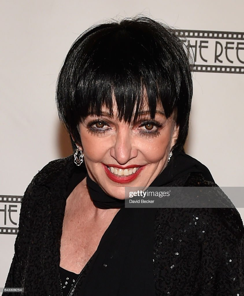Liza Minnelli impersonator Suzanne Goulet attends The Reel ...