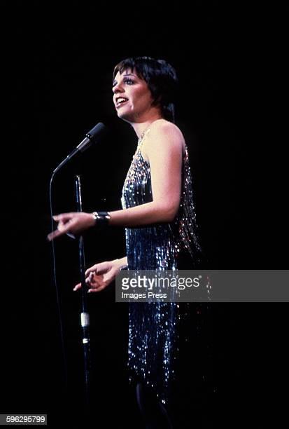 Liza Minnelli in concert circa 1974 in New York City