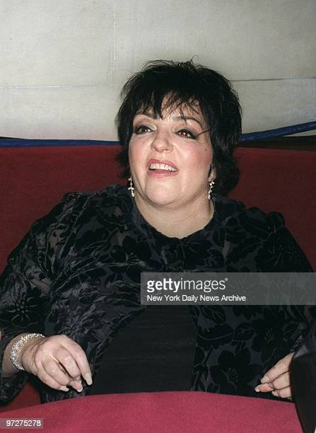Liza Minnelli is on hand at the Night of 1000 Star Clients party in honor of entertainment lawyer Mark Sendroff's 50th birthday at the supper club...