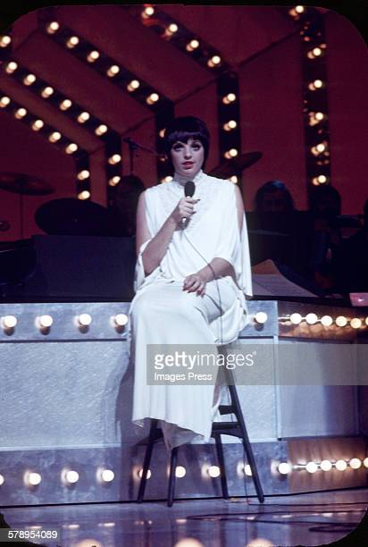 Liza Minnelli performing at the London Palladium circa 1972 in London England