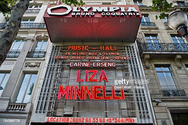 Liza Minnelli performs at l Olympia on July 11 2011 in Paris France