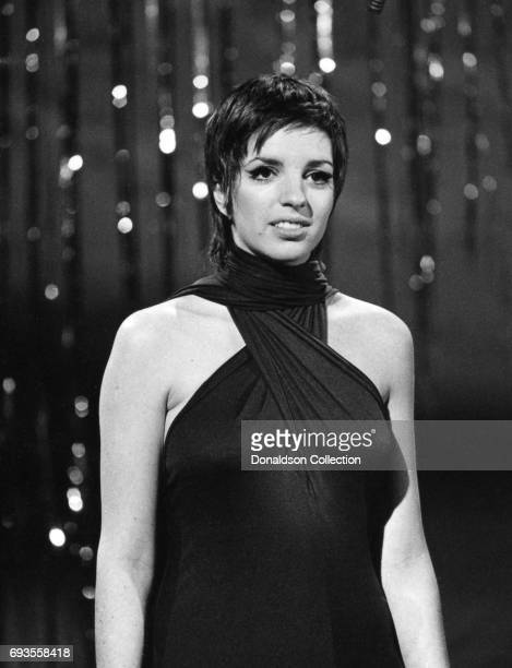 Liza Minnelli performs on This Is Tom Jones TV show in circa 1970 in Los Angeles California