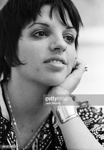 Liza Minnelli photographed in 1972, the year she won the Academy Award for Best Actress for 'Cabaret'.