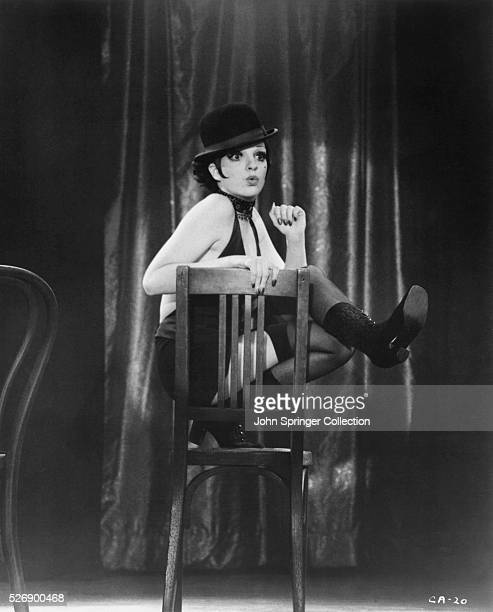Liza Minnelli plays nightclub dancer Sally Bowles in the 1972 film Cabaret.