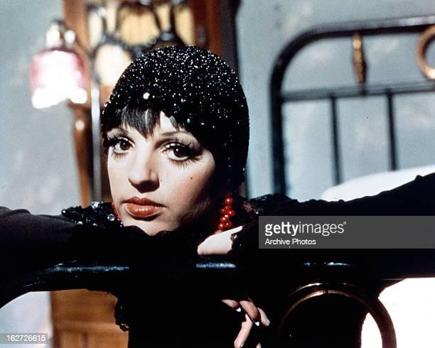 Liza Minnelli publicity portrait for the film 'Cabaret', 1972.