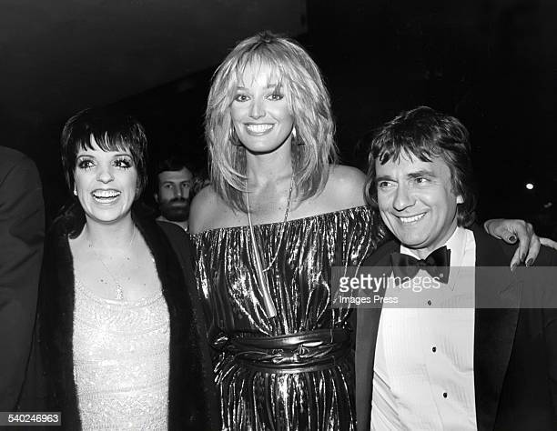 Liza Minnelli Susan Anton and Dudley Moore circa 1982 in New York City