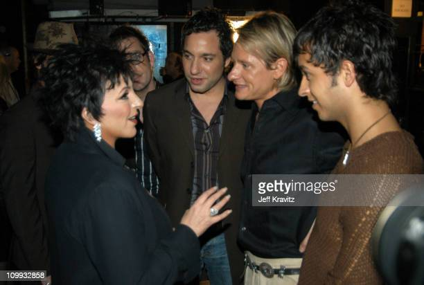 Liza Minnelli Thom Filicia Carson Kressley and Jai Rodriguez