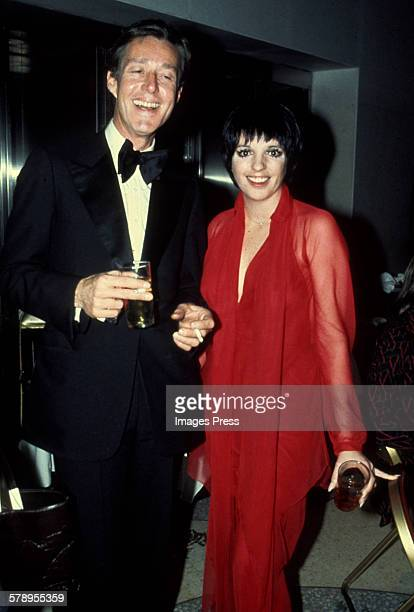 Liza Minnelli with designer Halston circa 1978 in New York City