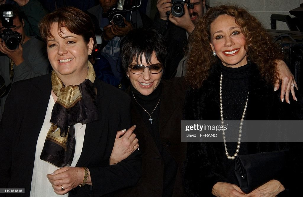 Liza Minnelli With Her Sister Christine And Marisa Berenson Arrive At The Marble Collegiate Church