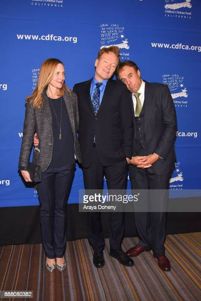 Liza Powel Conan O'Brien and Kevin Nealon attend the Children's Defense FundCalifornia's 27th Annual Beat The Odds Awards at the Beverly Wilshire...