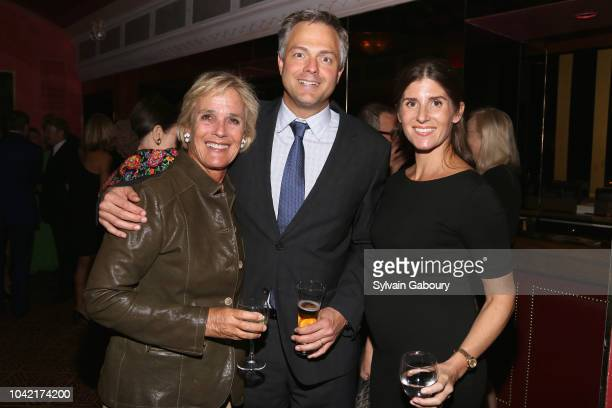 Liza Pulitzer Page Leidy and Courtney Dolan Leidy attend David Patrick Columbia And Chris Meigher Toast The QUEST 400 At DOUBLES on September 27 2018...