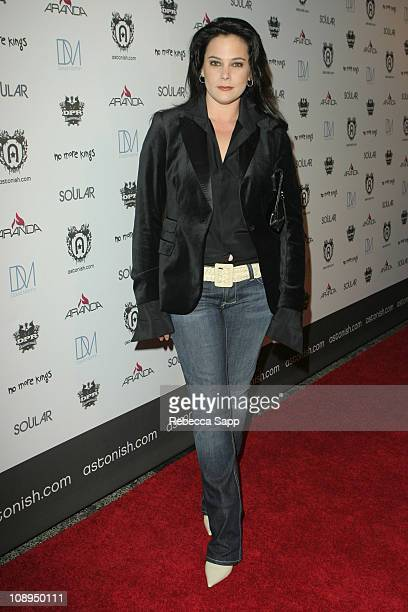 Liza Snyder during Astonish Launch Party November 2 2006 at Avalon in Los Angeles California United States