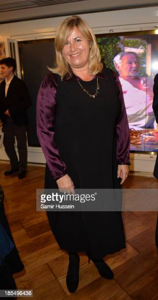 Liza Tarbuck attends NYT tribute to legendary director and president of the National Youth Theatre from 1983 to 2005, Bryan Forbes at The Club at The...