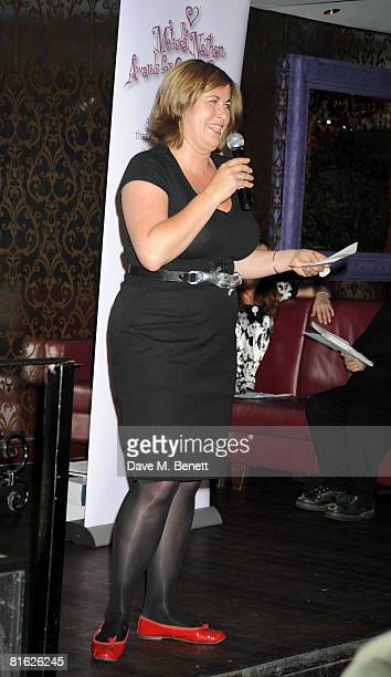 Liza Tarbuck attends The Melissa Nathan Awards for Comedy Romance at Studio Valbonne on June 18 2008 in London England