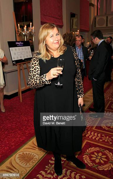 Liza Tarbuck attends the National Youth Theatre Fundraiser 'Strictly Come Downton' at Bloomsbury Hotel on December 1 2014 in London England