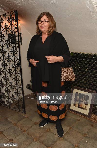 Liza Tarbuck attends the National Youth Theatre's fundraising event at The Stafford Hotel on February 26, 2019 in London, England.