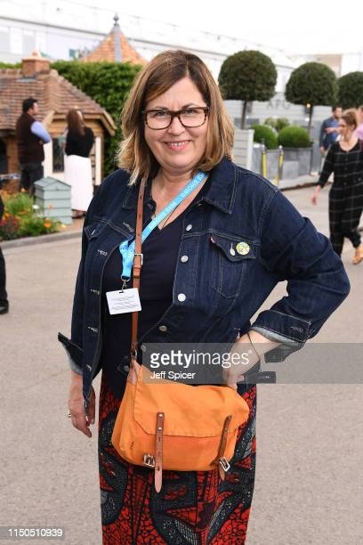 Liza Tarbuck attends the RHS Chelsea Flower Show 2019 press day at Chelsea Flower Show on May 20 2019 in London England