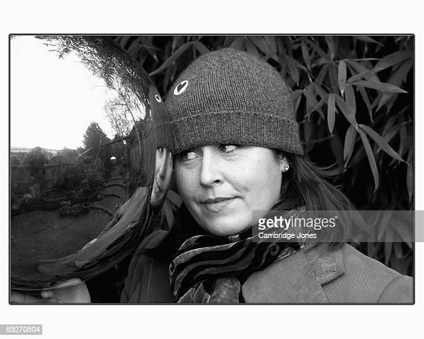 Liza Tarbuck poses during a photo call held on January 19, 2005 at her home in London, England.