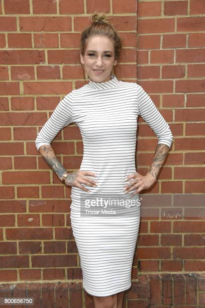 Liza Waschke aka Milla Brandt attends the 'Berlin Tag Nacht' Fan Party In Berlin on June 24 2017 in Berlin Germany
