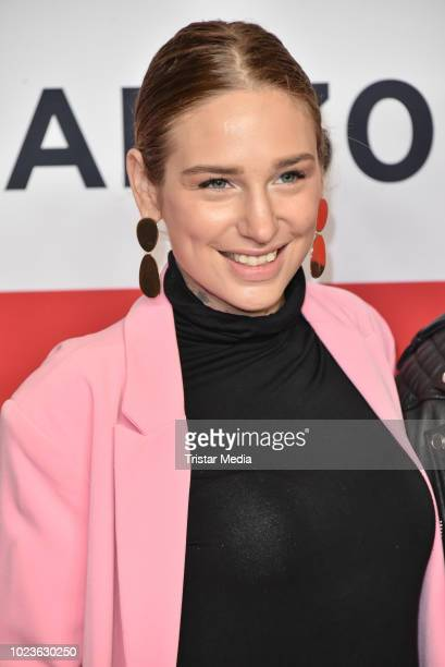 Liza Waschke attends the 'Safari Match Me If You Can' premiere on August 25 2018 in Berlin Germany