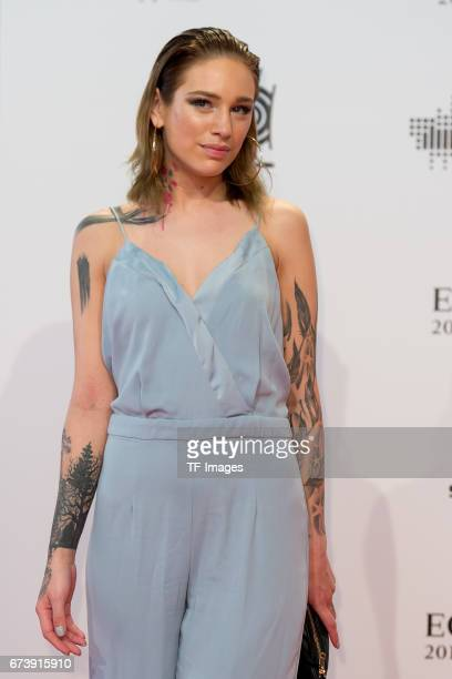 Liza Waschke on the red carpet during the ECHO German Music Award in Berlin Germany on April 06 2017