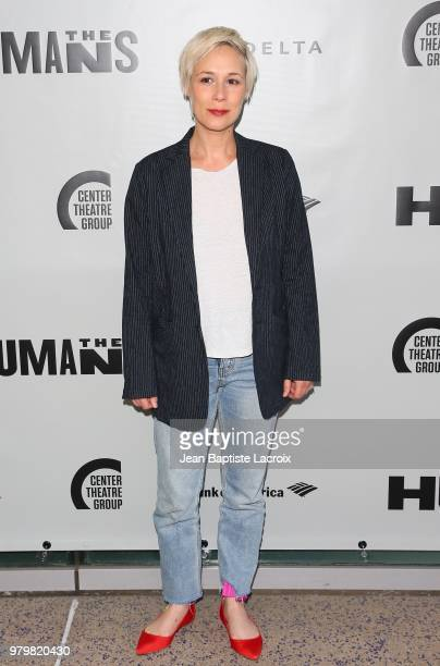 Liza Weil attends the opening night of the 'Humans' at the Ahmanson Theatre on June 20 2018 in Los Angeles California