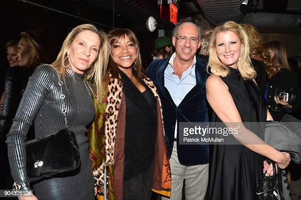 Lizanne Rosenstein Grace Hightower Andrew Saffir and Sandra Lee attend The Cinema Society Bluemercury host the after party for IFC Films' 'Freak...