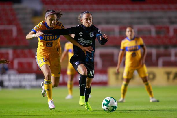 MEX: Queretaro v Tigres UANL - Playoffs Torneo Guard1anes 2020 Liga MX Femenil
