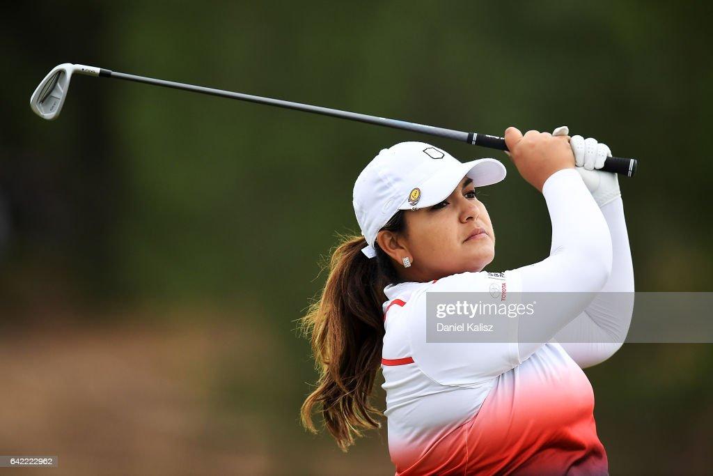 ISPS Handa Women's Australian Open - Round Two : News Photo