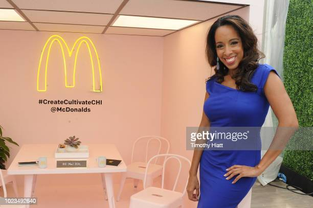 Lizette Williams attends for Create Cultivate conference at the House of Vans with partners include Microsoft Teams JC Penney McDonalds and Comcast...