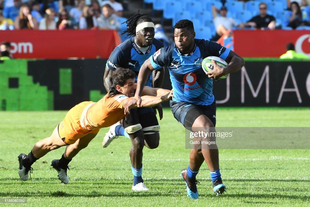 Super Rugby: Vodacom Bulls v Jaguares : News Photo