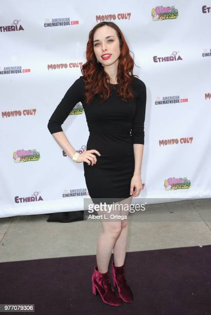 Lizz Marshall arrives for the 2018 Etheria Film Night held at the Egyptian Theatre on June 16 2018 in Hollywood California