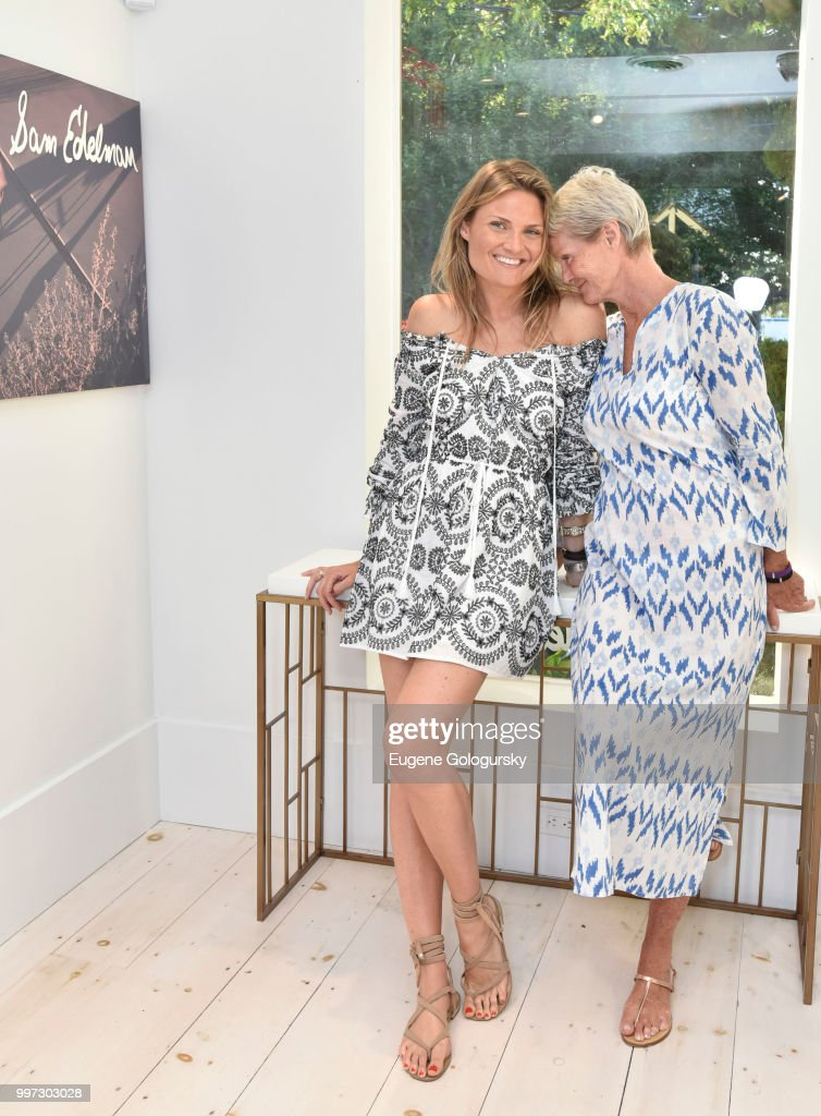 Lizzi Bickford and Betsy Berry attend the Modern Luxury + Sam Edelman Summer Fashion Event on July 12, 2018 in Southampton, New York.