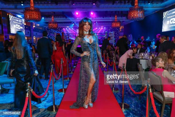 Lizzie Cundie attends The Float Like A Butterfly Ball 2018 the annual black tie boxing gala in aid of Caudwell Children at The Grosvenor House Hotel...