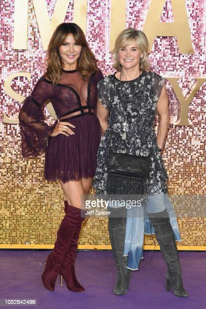 Lizzie Cundy and Anthea Turner attends the World Premiere of 'Bohemian Rhapsody' at SSE Arena Wembley on October 23 2018 in London England