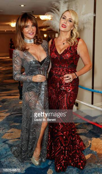 Lizzie Cundy and Nancy Sorrell attends The Float Like A Butterfly Ball 2018 the annual black tie boxing gala in aid of Caudwell Children at The...