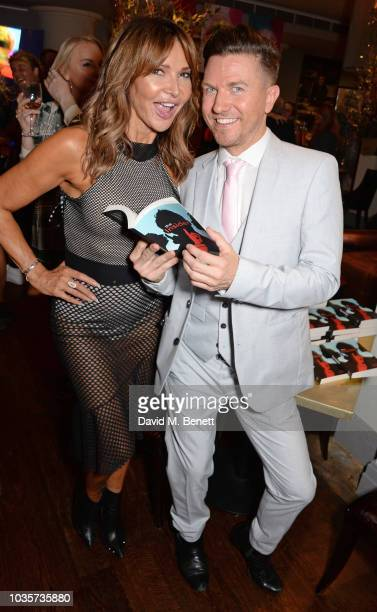 Lizzie Cundy attends the launch of Sam Dowler's debut book 'The Insider' at the Sanctum Soho Hotel on September 18 2018 in London England