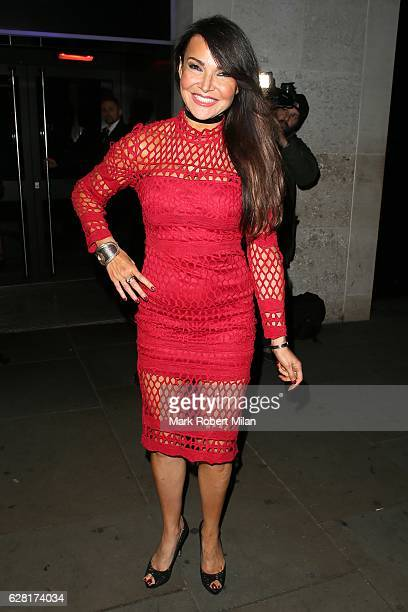 Lizzie Cundy at Radio bar on December 6 2016 in London England