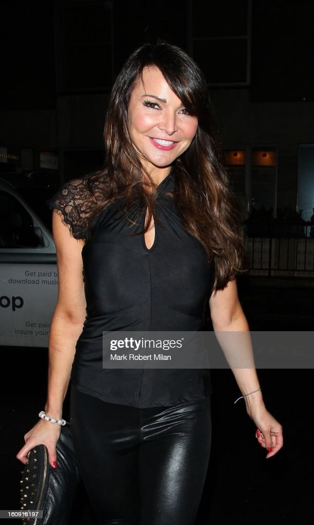 Lizzie Cundy at the Imitate Modern Gallery on February 7, 2013 in London, England.