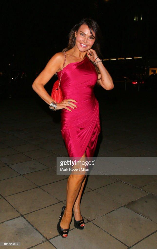 Celebrity Sightings In London - October 15, 2013