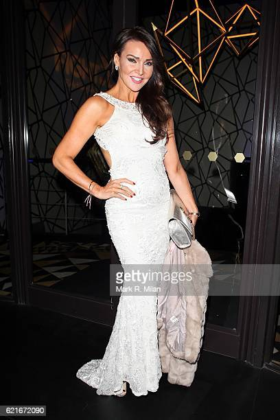 Lizzie Cundy attending the Fight for Life 20th Anniversary Gala at Quaglino's on November 7 2016 in London England