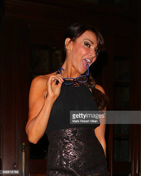 Lizzie Cundy attending the Specsavers Spectacle Wearer of the Year awards 2014 on October 7 2014 in London England