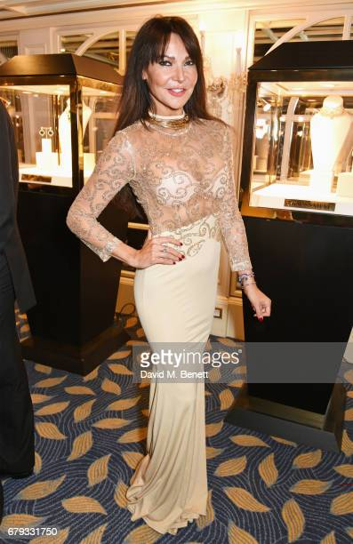 Lizzie Cundy attends The Asian Awards at Hilton Park Lane on May 5 2017 in London England