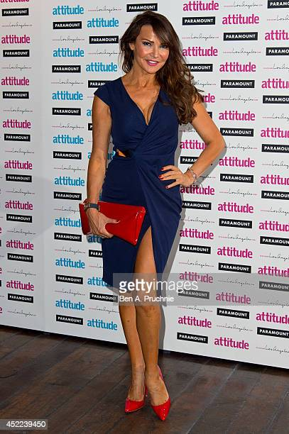 Lizzie Cundy attends the Attitude Magazine Hot 100 party at Paramount Club on July 16 2014 in London England