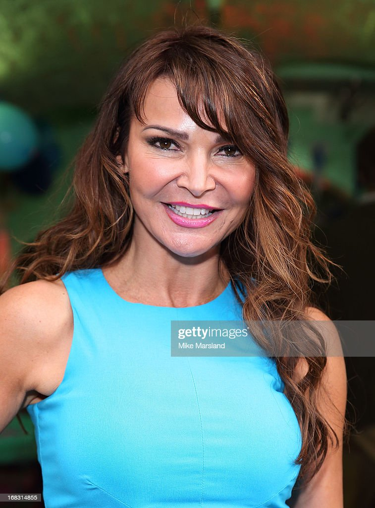 Lizzie Cundy attends the Blue Cross tea party on May 8, 2013 in London, England.
