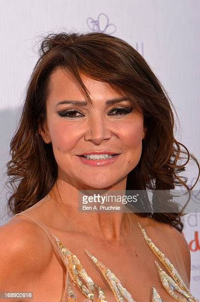 Lizzie Cundy attends The Butterfly Ball A Sensory Experience in aid of the Caudwell Children's charity at Battersea Evolution on May 16 2013 in...