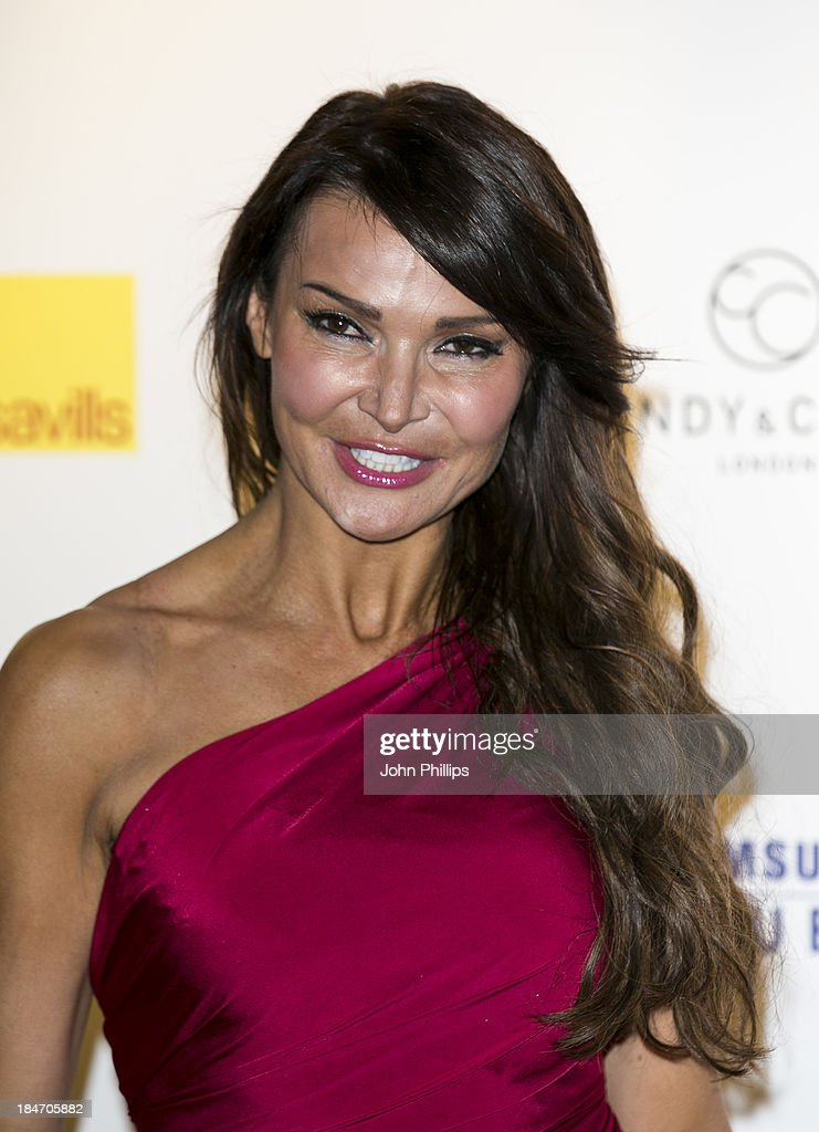 Lizzie Cundy attends the Candy magazine Autumn/Winter 2013 launch party at Saatchi Gallery on October 15, 2013 in London, England.