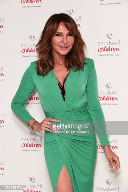 Lizzie Cundy attends the Caudwell Children London Ladies Lunch held at The Dorchester on October 12 2018 in London England